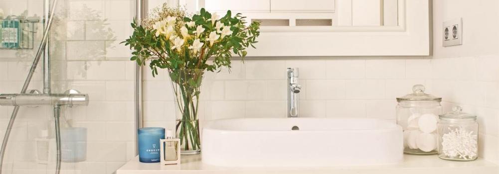 Cómo elegir los textiles del baño